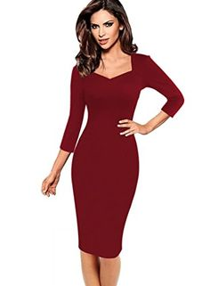 386c9e99e2 VfEmage Womens Sexy Elegant Summer Casual Party Cocktail Sheath Bodycon  Dress at Amazon Women s Clothing store