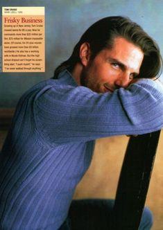he is so cute!! Tom Cruise