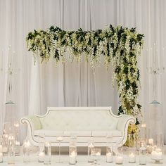 www.littlehillfloraldesigns.com Wedding ceremony, wedding arch, arch flowers, white wedding, greenery.