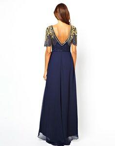 Image 2 of Virgos Lounge Raina Maxi Dress with Embellished Shoulder