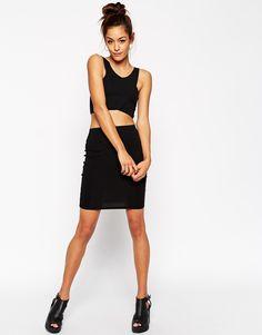 ASOS Knee Length Pencil Skirt in Jersey