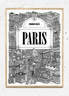 Paris fra Benjamin Noir