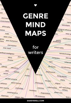Genre Mindmaps These PDF mindmaps help you brainstorm ideas for your writing. Right now there are 4 genres: steampunk, sci-fi, romance and regency. Writing Genres, Writing Advice, Fiction Writing, Writing Quotes, Writing Resources, Writing Help, Writing Skills, Writing A Book, Script Writing
