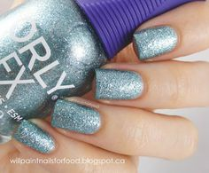Orly FX- Aqua Pixel @ Will Paint ails for Food