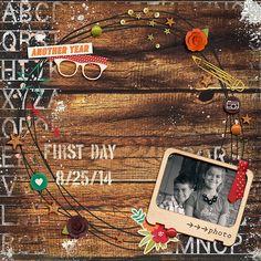 Alpha Grunge Brushes, Page Masks and Painted Bits M3 Add Ons | Storyteller September 2014 Digital Kit Collection