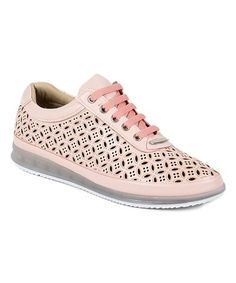Love this Powder Eyelet Mid-Rise Sneaker on #zulily! #zulilyfinds
