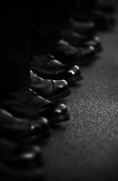black.quenalbertini: Black shoes