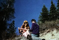 malcomevans:  Paul and Jane in the Rockies. This photo was taken by Mal Evans.