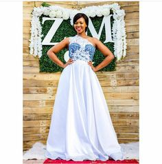 Image may contain: 1 person Traditional Wedding Decor, African Traditional Wedding, African Traditional Dresses, Traditional Outfits, Zulu Wedding, Wedding Wear, Wedding Cake, African Print Fashion, African Fashion Dresses