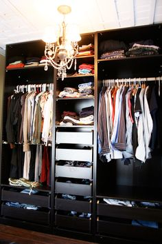 His Closet    Source:Closet Wardrobe: PAX System by IKEA