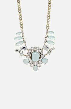 Jeweled Statement Necklace