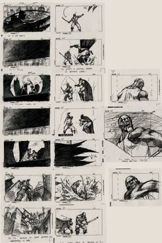 The Batman Story Board by kse332.deviantart.com on @deviantART