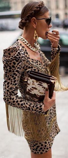 Street Style | Luxurious Leopard
