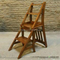 Kursi perpustakaan, kursi tangga, kursi lipat,Mebel Jepara, Furniture Jepara, library step chair  Order : 085330178829 www.tokopedia.com/manaffurniture