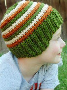 Crochet - Accessory Patterns - Hats, Hoods & Head Warmers - Ryan's Hat