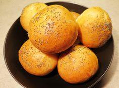 Krásné recepty od Aničky: Domácí briošky Hamburger, Potatoes, Bread, Vegetables, Food, Potato, Veggies, Essen, Hamburgers