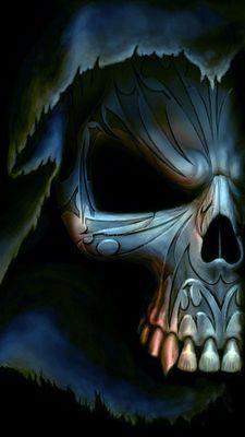 WALLPAPERS: 360x640 SKULL & DEATH