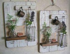 Цветы Wire Crafts, Diy And Crafts, Handmade Home Decor, Diy Home Decor, Creation Deco, Ideias Diy, Decoupage Vintage, Home And Deco, Country Decor