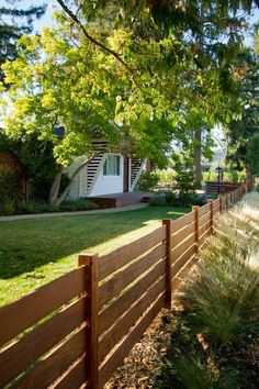 Love the look of this fence!