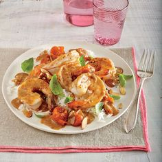 Curried Shrimp and Melted Cherry Tomatoes - Best Shrimp Recipes - Cooking Light