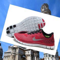Nike Free Run 4.0 Scarpe Uomo Grigio Rosso,HOT SALE!