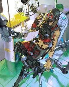 Neon City, Digimon, Crypto Apex Legends, Warframe Art, Electronic Arts, Battle Royale, The Revenant, Fanart, Video Game Characters