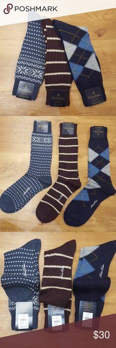 94bfc398b Brooks Brothers Merino Wool Men s Socks 3 pair Brooks Brothers Merino Wool  Socks for men.