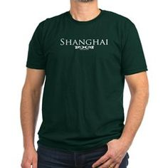 Shanghai, China Green T-Shirt.  To see this image on all shirts/colors, (be patient when you click this link - the page is HUGE, but the shirts are alphabetized) follow this link;http://www.cafepress.com/cheylines/7376062