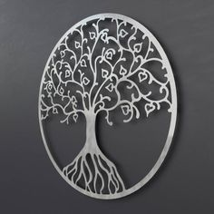 """See our web site for additional details on """"metal tree artwork"""". It is actually an excellent place for more information. Metal Bird Wall Art, Metal Wall Decor, Metal Art, Tree Sculpture, Wall Sculptures, Tree Artwork, Oversized Wall Art, Thing 1, Metal Texture"""