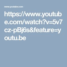 https://www.youtube.com/watch?v=5v7cz-pBj6s&feature=youtu.be