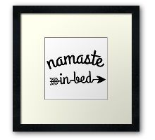' Namastay in bed ' T-Shirt by gaidamerry Iphone Wallet, Iphone Cases, Framed Prints, Canvas Prints, Ipad Case, Finding Yourself, Classic T Shirts, Greeting Cards, Photo Canvas Prints