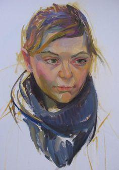 Portraitstudien nach den großen Meistern   Malkurs mit Elina Deberdeeva