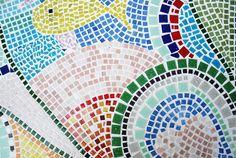 Mosaiktisch, Mosaictable, table, Terassentisch, Mosaik, Mosaic Monster, Red Apple, Beach Mat, Outdoor Blanket, Mosaic Stones, House Exteriors, Projects, Lawn And Garden