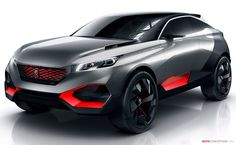 Peugeot Reveals New Hybrid SUV Concept