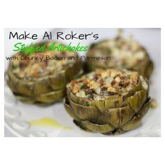 Al Roker shares 3 delicious ways to cook with artichokes Appetizer Salads, Yummy Appetizers, Cooking Ideas, Food Ideas, How To Cook Artichoke, Favorite Quotes, Favorite Recipes, Clean Eating, Healthy Eating