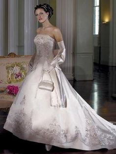 Wedding Dresses - Couture d'amour Collection Style catedral $229.19