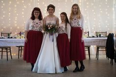 Me and my bridesmaids #winterbridesmaids