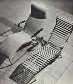Chaise Longue No. 313 or Reclining Chair by Marcel Breuer 1932