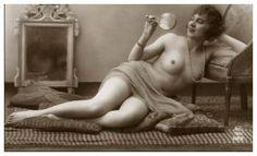 Vintage Female Nude 58 by Bnspyrd
