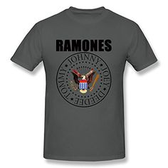 Ramones Presidential Seal Adult T-Shirt in Black Bravado