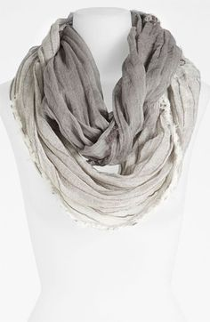 868790c0a1bd Eileen Fisher Sparkle Stripe Scarf  EFbehindthelabel Classic Wardrobe,  Striped Scarves, Student Loans,