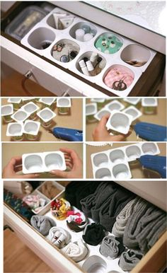 # The post 33 amazing diy home decor dollar store ideas 28 appeared first on Kleiderschrank ideen. 33 amazing diy home decor dollar store ideas 28 33 amazing diy home decor dollar store ideas 28 Diy Home Decor Rustic, Diy Home Decor Bedroom, Diy Home Decor On A Budget, Diy Organisation, Closet Organization, Organizing Ideas, Organising, Dresser Drawer Organization, Drawer Dividers