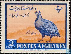 1961 Afghanistan [AFG] - Birds