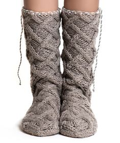 Love this Cappuccino Tassel Mukluk Slippers on #zulily! #zulilyfinds