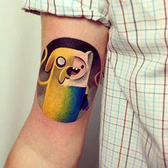 cartoons tatto