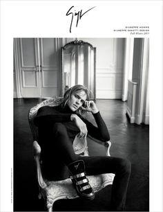 Karolina Kurkova for Giuseppe Zanotti Fall Winter 2015.16