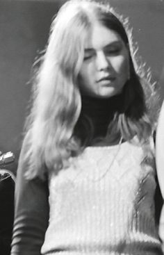 Debbie Harry, possibly from the Wind in the Willows era (1968?)