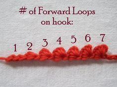 Mr. Micawber's Recipe for Happiness: Forward Loop Chain: an Alternative to Standard Chain Stitch (with Limpet Variations and Tutorial)... more limpet info