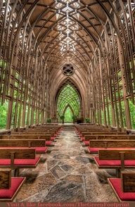 outdoor cathedrals...
