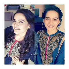Her smile is to die for😍💗. - #aimankhan #loveher  @aimankhan.official